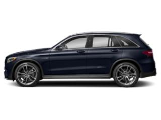 Lunar Blue Metallic 2018 Mercedes-Benz GLC Pictures GLC AMG GLC 63 4MATIC SUV photos side view