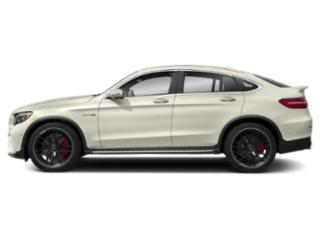 Polar White 2018 Mercedes-Benz GLC Pictures GLC AMG GLC 63 4MATIC Coupe photos side view