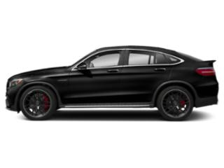 Obsidian Black Metallic 2018 Mercedes-Benz GLC Pictures GLC AMG GLC 63 4MATIC Coupe photos side view