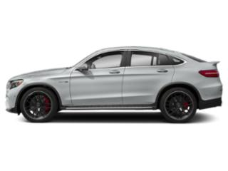 Iridium Silver Metallic 2018 Mercedes-Benz GLC Pictures GLC AMG GLC 63 4MATIC Coupe photos side view