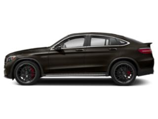 Dakota Brown Metallic 2018 Mercedes-Benz GLC Pictures GLC AMG GLC 63 4MATIC Coupe photos side view