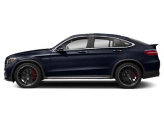 Lunar Blue Metallic 2018 Mercedes-Benz GLC Pictures GLC AMG GLC 63 4MATIC Coupe photos side view