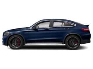 Brilliant Blue Metallic 2018 Mercedes-Benz GLC Pictures GLC AMG GLC 63 4MATIC Coupe photos side view