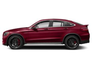 designo Cardinal Red Metallic 2018 Mercedes-Benz GLC Pictures GLC AMG GLC 63 4MATIC Coupe photos side view