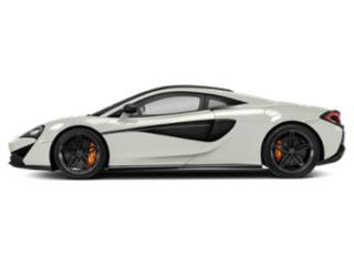 Pearl White 2018 McLaren 570S Pictures 570S 2 Door Coupe photos side view