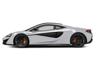 Silica White 2018 McLaren 570S Pictures 570S Coupe photos side view