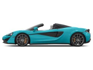 Fistral Blue 2018 McLaren 570S Pictures 570S Spider photos side view