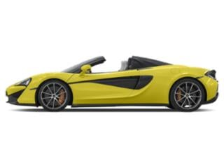 Silician Yellow 2018 McLaren 570S Pictures 570S Spider photos side view