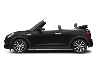 Midnight Black Metallic 2018 MINI Convertible Pictures Convertible Cooper S FWD photos side view