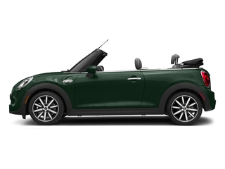 British Racing Green Metallic 2018 MINI Convertible Pictures Convertible Cooper S FWD photos side view