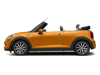 Volcanic Orange 2018 MINI Convertible Pictures Convertible Cooper S FWD photos side view