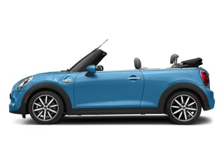 Electric Blue Metallic 2018 MINI Convertible Pictures Convertible Cooper S FWD photos side view
