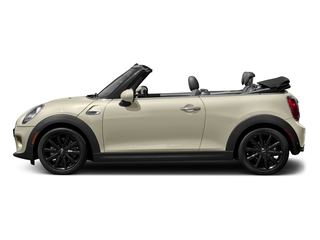 Pepper White 2018 MINI Convertible Pictures Convertible Cooper FWD photos side view