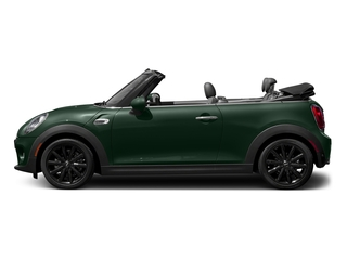 British Racing Green Metallic 2018 MINI Convertible Pictures Convertible Cooper FWD photos side view