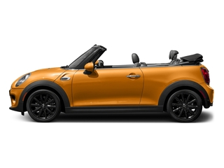 Volcanic Orange 2018 MINI Convertible Pictures Convertible Cooper FWD photos side view