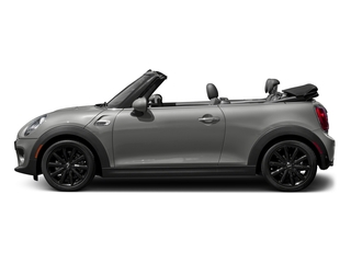 Moonwalk Grey Semi-Metallic 2018 MINI Convertible Pictures Convertible Cooper FWD photos side view