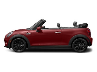 Blazing Red Metallic 2018 MINI Convertible Pictures Convertible Cooper FWD photos side view