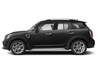 Midnight Black Metallic 2018 MINI Countryman Pictures Countryman Wagon 4D Countryman S AWD I4 Turbo photos side view