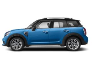 Island Blue Metallic 2018 MINI Countryman Pictures Countryman Wagon 4D Countryman S AWD I4 Turbo photos side view