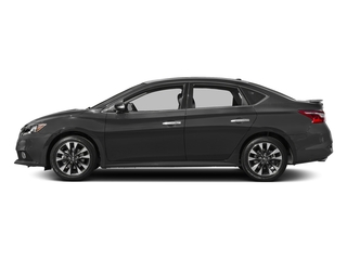 Gun Metallic 2018 Nissan Sentra Pictures Sentra SR Turbo Manual photos side view