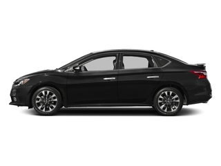 Super Black 2018 Nissan Sentra Pictures Sentra SR Turbo Manual photos side view