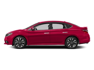 Scarlet Ember 2018 Nissan Sentra Pictures Sentra SR Turbo Manual photos side view