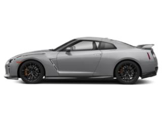 Super Silver Metallic 2018 Nissan GT-R Pictures GT-R Coupe 2D Premium AWD V6 Turbo photos side view