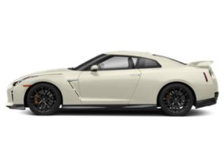 Pearl White 2018 Nissan GT-R Pictures GT-R Coupe 2D Premium AWD V6 Turbo photos side view