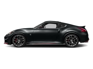 Magnetic Black 2018 Nissan 370Z Coupe Pictures 370Z Coupe 2D NISMO Tech V6 photos side view