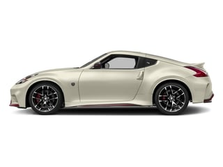 Pearl White 2018 Nissan 370Z Coupe Pictures 370Z Coupe 2D NISMO Tech V6 photos side view