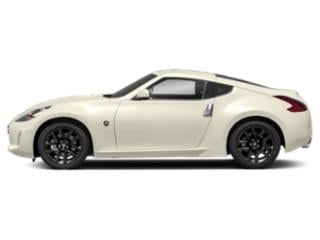 Pearl White 2018 Nissan 370Z Coupe Pictures 370Z Coupe 2D Touring V6 photos side view