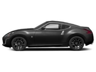 Gun Metallic 2018 Nissan 370Z Coupe Pictures 370Z Coupe 2D Touring V6 photos side view