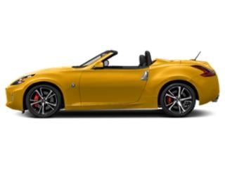 Chicane Yellow 2018 Nissan 370Z Roadster Pictures 370Z Roadster Touring Auto photos side view