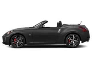 Gun Metallic 2018 Nissan 370Z Roadster Pictures 370Z Roadster Touring Auto photos side view