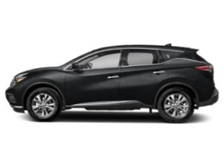 Magnetic Black Metallic 2018 Nissan Murano Pictures Murano AWD SV photos side view