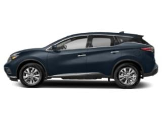 Arctic Blue Metallic 2018 Nissan Murano Pictures Murano AWD SV photos side view