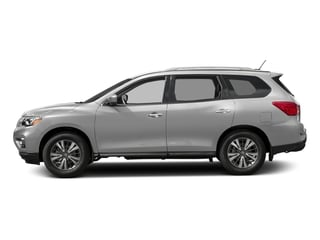 Brilliant Silver 2018 Nissan Pathfinder Pictures Pathfinder FWD SV photos side view