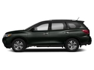 Midnight Pine 2018 Nissan Pathfinder Pictures Pathfinder 4x4 S photos side view