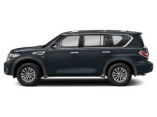 Hermosa Blue 2018 Nissan Armada Pictures Armada Utility 4D SV AWD V8 photos side view