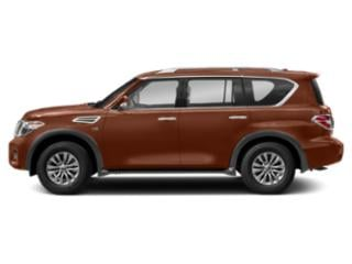 Forged Copper 2018 Nissan Armada Pictures Armada Utility 4D SV AWD V8 photos side view