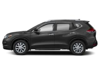 Gun Metallic 2018 Nissan Rogue Pictures Rogue Utility 4D SV 2WD I4 photos side view