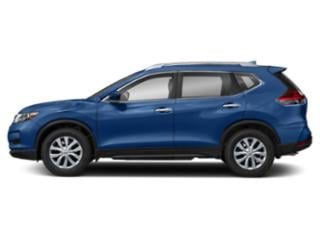Caspian Blue 2018 Nissan Rogue Pictures Rogue Utility 4D SV 2WD I4 photos side view
