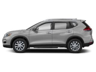 Brilliant Silver 2018 Nissan Rogue Pictures Rogue Utility 4D SV 2WD I4 photos side view