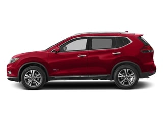Scarlet Ember 2018 Nissan Rogue Pictures Rogue FWD SL Hybrid photos side view