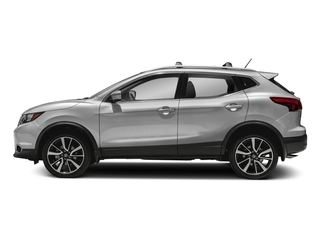 Brilliant Silver 2018 Nissan Rogue Sport Pictures Rogue Sport Utility 4D SL AWD photos side view