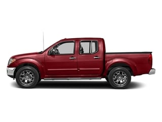 Lava Red 2018 Nissan Frontier Pictures Frontier Crew Cab SL 4WD photos side view