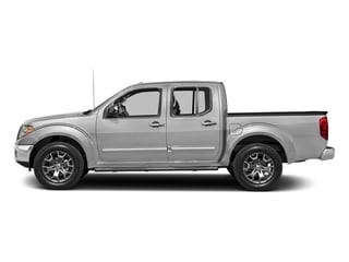 Brilliant Silver 2018 Nissan Frontier Pictures Frontier Crew Cab SL 4WD photos side view