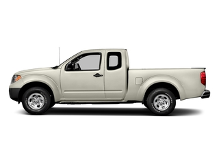 Glacier White 2018 Nissan Frontier Pictures Frontier King Cab S 2WD photos side view