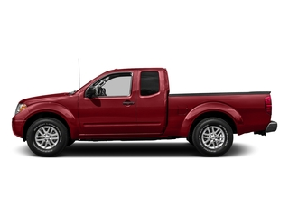 Lava Red 2018 Nissan Frontier Pictures Frontier King Cab 4x2 SV V6 Auto photos side view