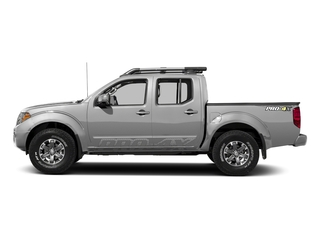 Brilliant Silver 2018 Nissan Frontier Pictures Frontier Crew Cab 4x4 PRO-4X Manual photos side view